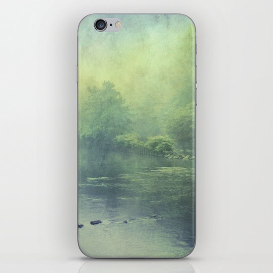 mystic haze iPhone & iPod Skin