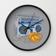 Recycled Future Wall Clock