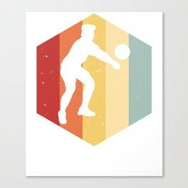 Volleyball Volleyballing player Handball Canvas Print