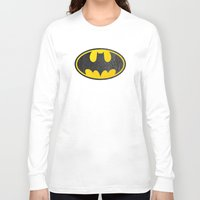 bat man Long Sleeve T-shirts featuring Bat man by S.Levis