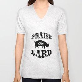 Praise the Lard 2 Unisex V-Neck