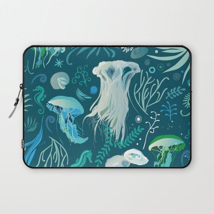 Aqua pattern Laptop Sleeve