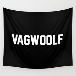VagWoolf2 Wall Tapestry