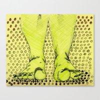 feet Canvas Prints featuring Feet by Rainey Emerson