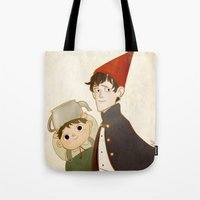 greg guillemin Tote Bags featuring Greg & Wirt by Ferkashi