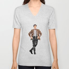 Eleventh Doctor Unisex V-Neck