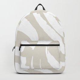 Neutral Brush Strokes Backpack