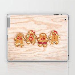 Christmas sweet gingerbread cookies Laptop & iPad Skin