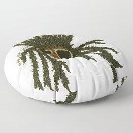Crown of Locs Floor Pillow