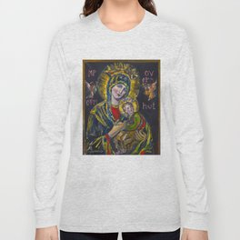 Our Lady of Perpetual Help Long Sleeve T-shirt