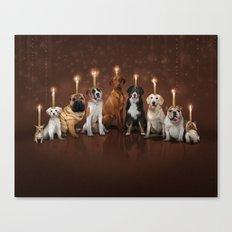 Hot Dog, It's Hanukkah! Canvas Print