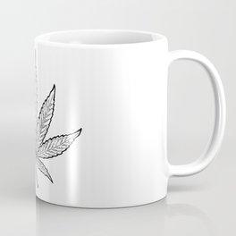 Minimal Marijuana Coffee Mug