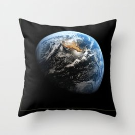 NASA Hubble Space Telescope Poster - Hubble Views of the Universe - Earth Throw Pillow