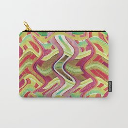 409 - Abstract Colour Design Carry-All Pouch