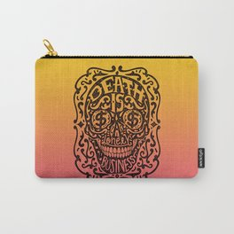Death is a Lonely Business Carry-All Pouch