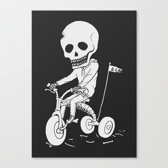 Death Kid Bone Ride Canvas Print