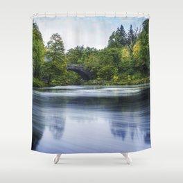 Swirling Dreams Shower Curtain