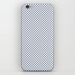 Stonewash Polka Dots iPhone Skin