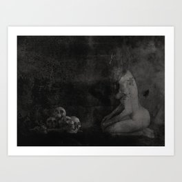 Never Fuck With A Witch Art Print