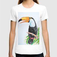 toucan T-shirts featuring Toucan by The Traveling Catburys