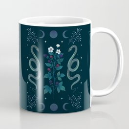 Serpent and Wild Berries Coffee Mug