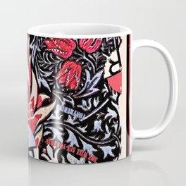 Rubino Purple Floral Coffee Mug