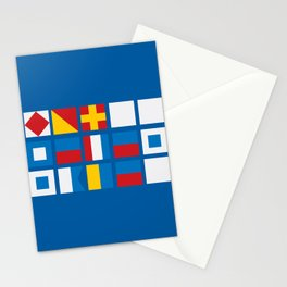 NAUTICAL FOR PETE'S SAKE Stationery Cards