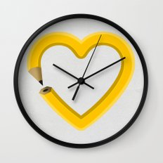 Love to draw Wall Clock