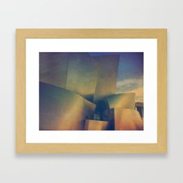 Los Angeles Concert Hall Framed Art Print