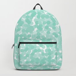 Beach Glass Polka Dot Bubbles Backpack