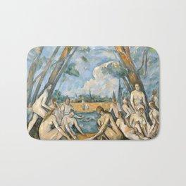 Paul Cézanne - Les Grandes Baigneuses (The Large Bathers) Bath Mat