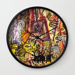 Creation through time Wall Clock