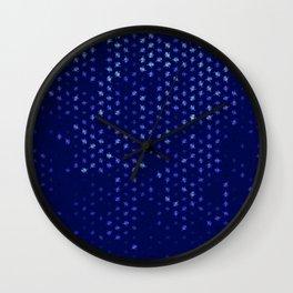 leo zodiac sign pattern std Wall Clock