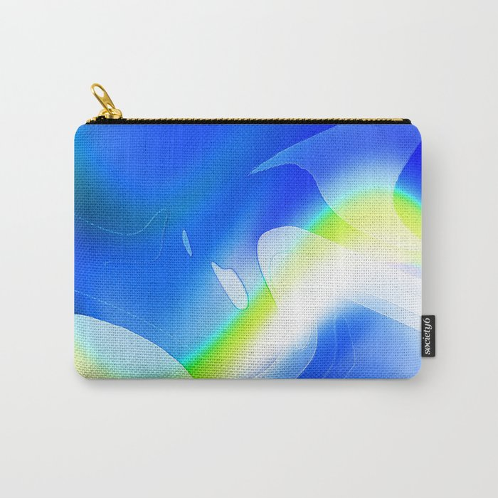 """'70's Lava Lamp"" Photograph Carry-All Pouch"