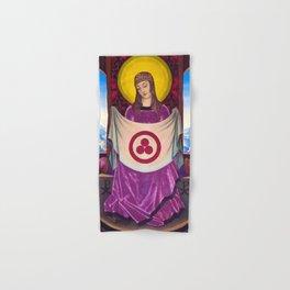 Nicholas Roerich - Madonna Oriflamma - Digital Remastered Edition Hand & Bath Towel