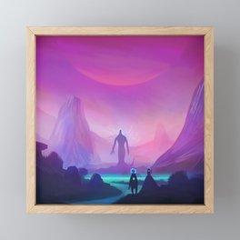 Phazed and Cloud | SciFi Adventure Series #1 Framed Mini Art Print