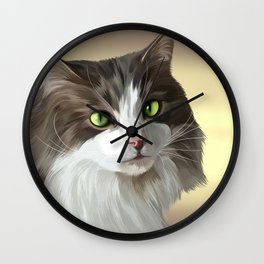 Bentley The Cat Wall Clock