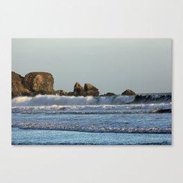 The surf at Stinson Beach Canvas Print