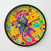 60s Wall Clocks featuring BQ - Yas4Yas 60s Throwback by lessdanthree