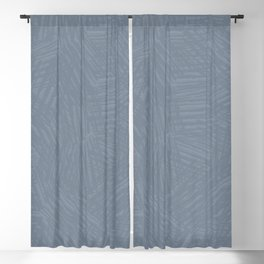 Light Slate Gray Marks Blackout Curtain