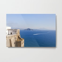 Naples Seen from Procida Island Metal Print