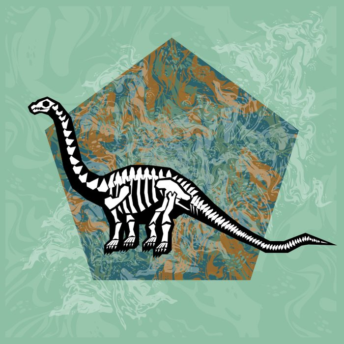 Brachiosaurus Fossil Comforters