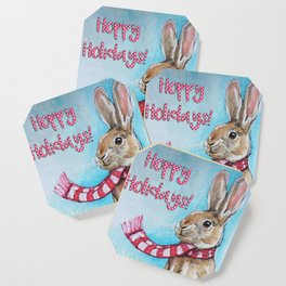 Hoppy Holidays Coaster