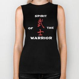 Spirit of the warrior Biker Tank