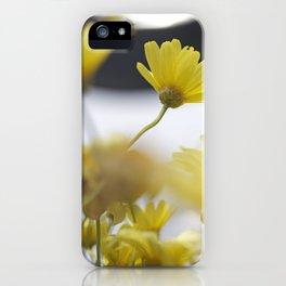 yellow daisies iPhone Case