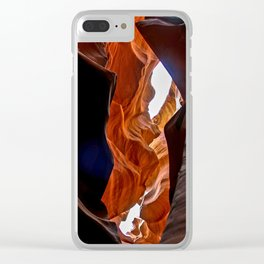 Antelope leap Clear iPhone Case