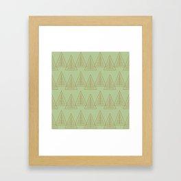Winter Hoidays Pattern #10 Framed Art Print