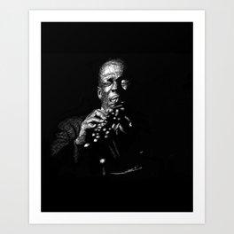 Trane - Jazz Saxophone Art Print