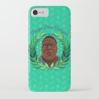 notorious big iPhone & iPod Cases featuring NOTORIOUS by badOdds