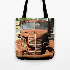 One Eyed Bedford Truck Tote Bag